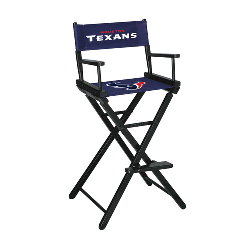 100-3034, Houston Texans, NFL, Bar, Height, Directors Chair, FREE SHIPPING, Imperial