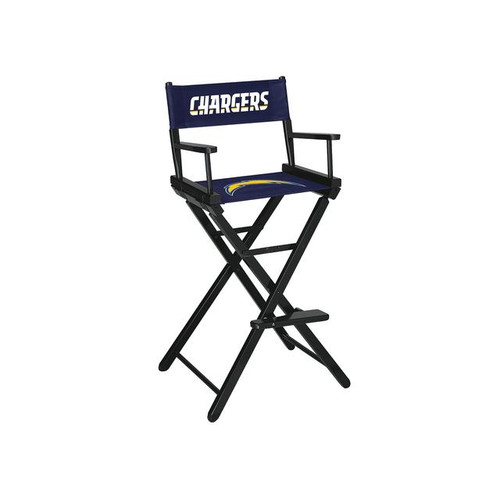 100-3036, LA, Los Angeles, Chargers, NFL, Bar, Height, Directors Chair, FREE SHIPPING, Imperial