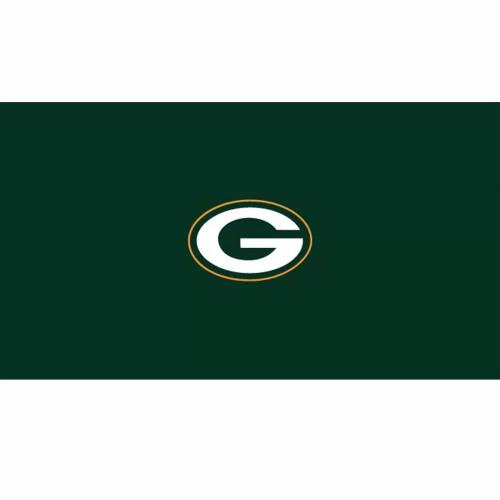 52-1001, 52-1001-9,GB, Green Bay, Packers, Billiard, pool, 8', 9', cloth, felt, Logo,
