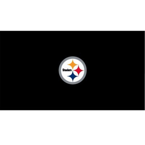 52-1004, 52-1004-7, 52-100-9, Pitt, Pittsburgh, Steelers, Billiard, pool, 7, 8', 9', cloth, felt, Logo, NFL
