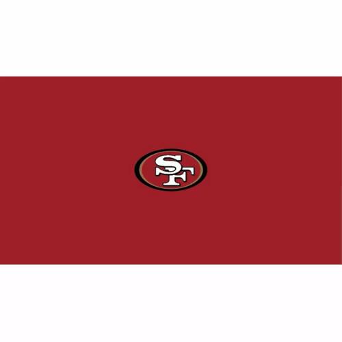 52-1005, 52-1005-9, SF, San Francisco, 49ers, Billiard, pool, 8', 9', cloth, felt, Logo, NFL