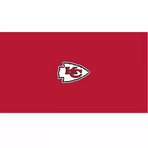 52-1006, 52-100-9, KC, Kansas City, Chiefs, Billiard, pool, 8', 9', cloth, felt, Logo, NFL