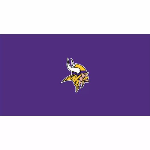 52-1007, 52-1007-9, Minnesota, Vikings, Billiard, pool, 8', 9', cloth, felt, Logo, NFL