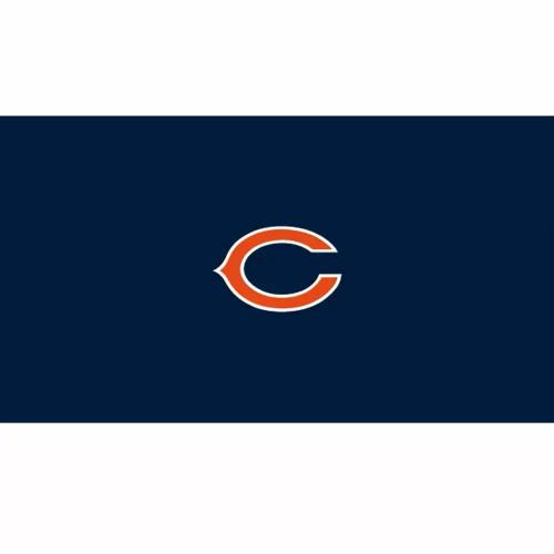 52-1019, 52-1019-9, 52-1019-7, Chicago, Bears, Billiard, pool, 7', 8', 9', cloth, felt, Logo, NFL
