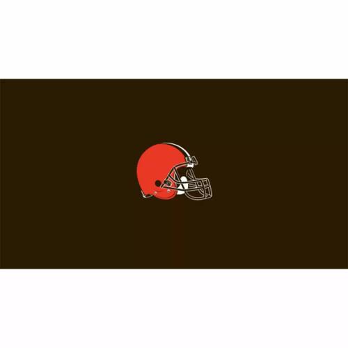 52-1020, 52-1020-9, Cleveland, Browns,  Billiard, pool, 8', 9', cloth, felt, Logo, NFL