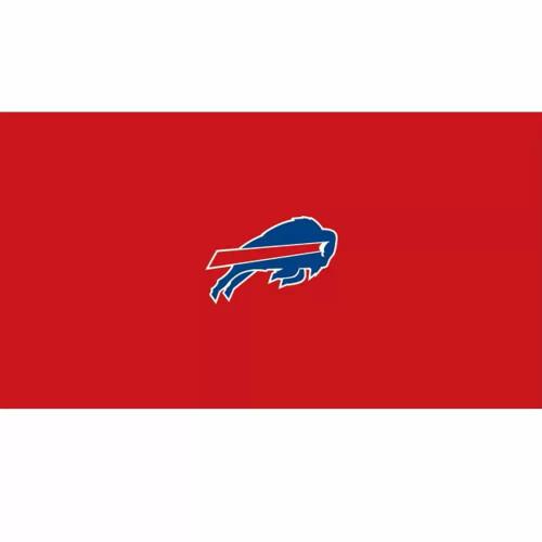 52-1021, 52-1021-9, Buffalo, Bills,  Billiard, pool, 8', 9', cloth, felt, Logo, NFL