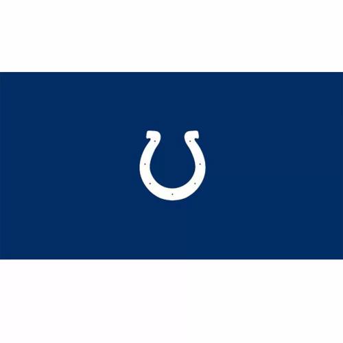 52-1022, 52-1022-9, Indy, Indianapolis, Colts  Billiard, pool, 8', 9', cloth, felt, Logo, NFL