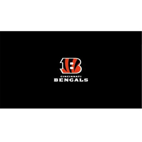 52-1023, 52-1023-9, Cincy, Cincinnati, Bengals  Billiard, pool, 8', 9', cloth, felt, Logo, NFL