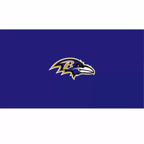 52-1025, 52-1025-9, 52-1025-7, Baltimore, Ravens, Billiard, pool, 7', 8', 9', cloth, felt, Logo, NFL