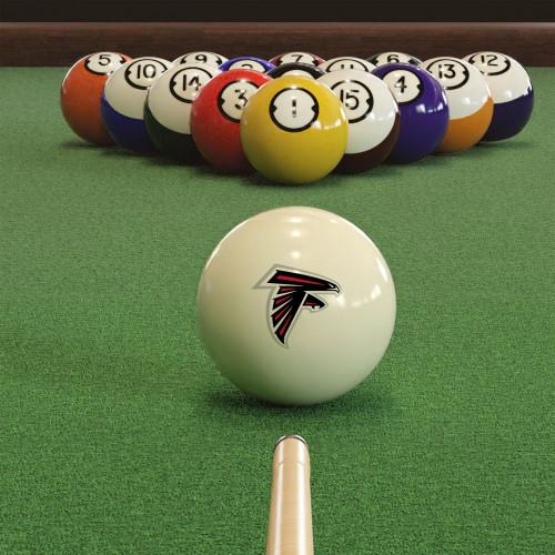610-1030, Atlanta, Falcons, Cue, Ball, Billiards, Pool. NFL, FREE SHIPPING