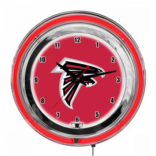 "655-1030, 14"", Atl, Atlanta, Falcons, NFL, Neon, Clock, FREE SHIPPING"