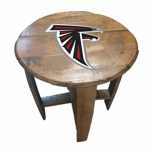 "629-1030, Atl, Atlanta, Falcons, NFL, 21"", 21in, Table, Authentic, Oak, Barrell, Bourbon, Free Shipping"