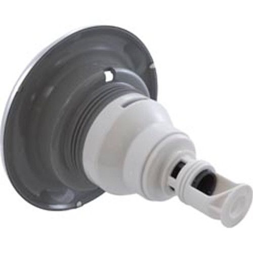 """229-5617S, Waterway, 5"""", Dia, SS, Stainless, steel, Power Storm, Directional, Threaded, Gray, Scalloped, Jet, Internal. FREE SHIPPING, spa, hot tub"""