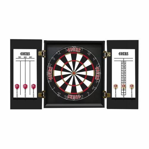 624-1007, Minnesota Vikings, Fan's Choice, Dartboard, Cabinet, Darts, Flights, Set, FREE SHIPPING,