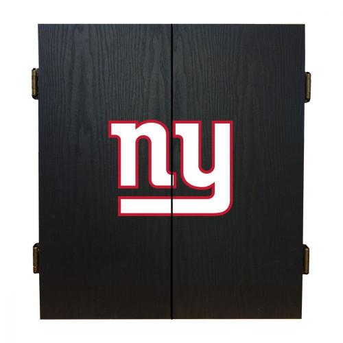 624-1013, NY, New York, Giants, Fan's Choice, Dartboard, Cabinet, Darts, Flights, Set, FREE SHIPPING,