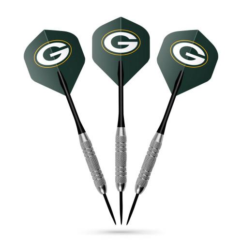 646-1001, GB, Green Bay, Packers, NFL, Team, Dart, Flight, Set, FREE SHIPPING
