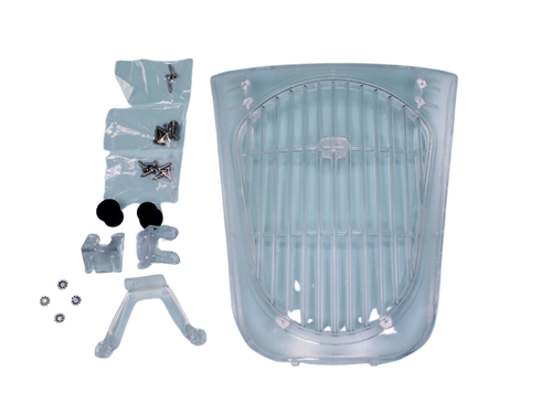 Dream Maker, Clear, Weir, Grill, Cover, SS, 316,  Hardware, FREE SHIPPING, 309089CLR,409089CLR