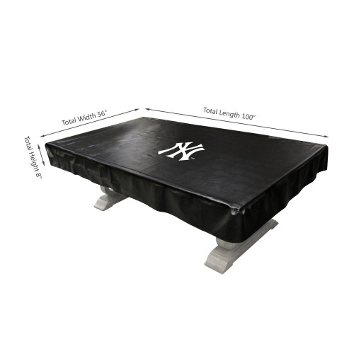 80-3001, NY, New York, Yankees, 8-ft, Deluxe. Billiard, Pool, Table, Cover, FREE SHIPPING