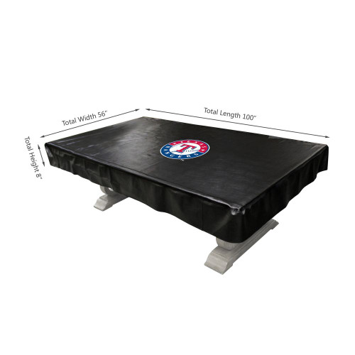 80-3020, Texas, Rangers,, 8-ft, Deluxe. Billiard, Pool, Table, Cover, FREE SHIPPING