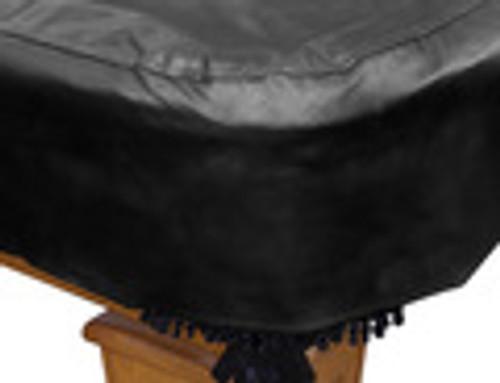 Black, Pool Table, Cover, 7', 8', 9', Heavy Duty, HD, Naugahyde, Leatherette,  069-902-BK, 069-903-BK, 069-904-BK, Hans, Delta