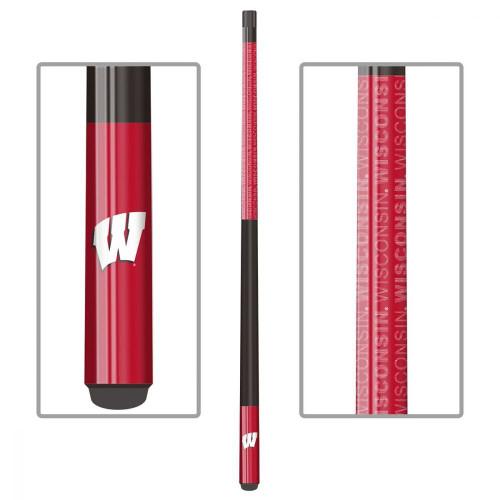 13-5010,Wisconsin, Badgers, Billiard, pool, Cue, Fiberglass, Maple, NCAA, Imperial