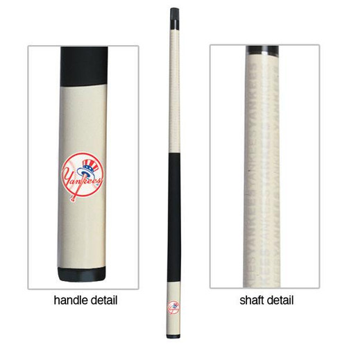 13-3001, New York, NY, Yankees, MLB, Billiard, Billiard, Cue, Fiberglass, Maple, Eliminator, Imperial
