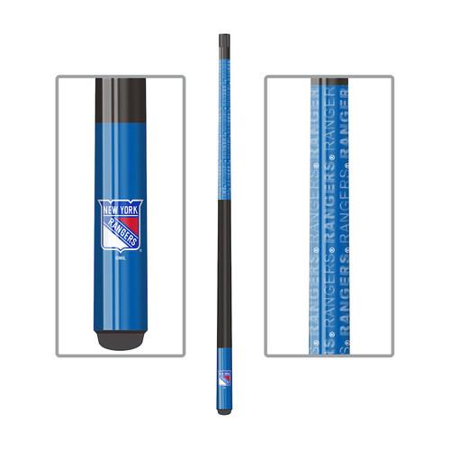 13-4006, NY, New York, Rangers, NHL, Billiard, Billiard, Cue, Fiberglass, Maple, Eliminator, Imperial