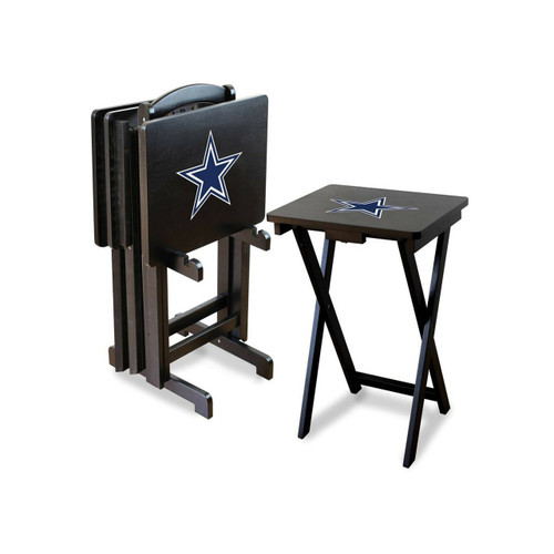 86-1002. Dallas, Cowboys, TV, Snack, Tray, Set, MLB, FREE SHIPPING