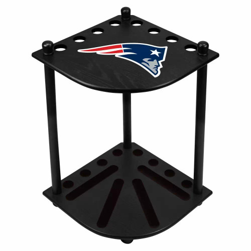 578-1011, NE, New England, Patriots, NFL, Billiard, Corner, Cue Rack, FREE SHIPPING