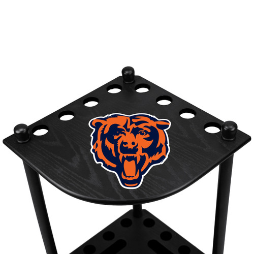 578-1019, Chicago, Bears, NFL, Billiard, Corner, Cue Rack, FREE SHIPPING