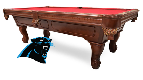 Carolina Panthers, NFL, Gameroom, Game Room, Billiard, Pool Table, Slate, Cloth, Dart Board, Neon, Spectator Chair, Installed, Man Cave