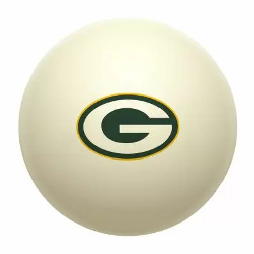 610-1001, GB, Green Bay, Packers, Cue, Ball, Billiards, Pool. NFL, FREE SHIPPING