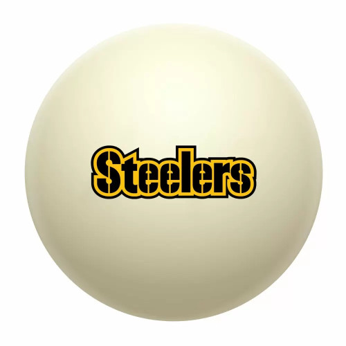 610-1004, Pittsburgh, Steelers, Cue, Ball, Billiards, Pool. NFL, FREE SHIPPING