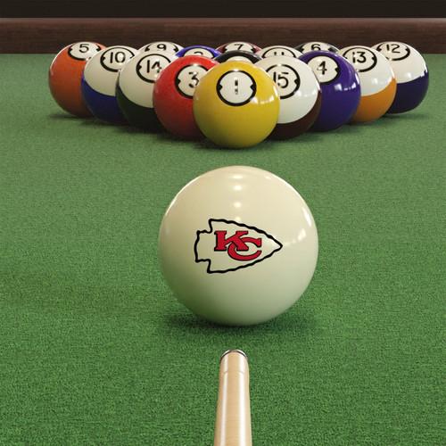 Kansas City Chiefs Cue Ball, FREE SHIPPING