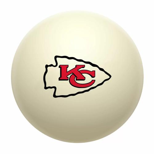 610-1006, Kansas City Chiefs Cue Ball, FREE SHIPPING