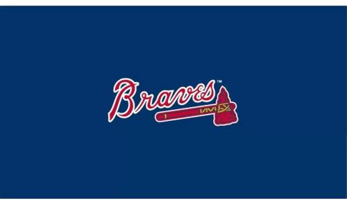 Atlanta, Braves, mlb, Billiard, Pool Table, slate, Game Room, 8', installed, FREE DELIVERY, logo, imperial, delta
