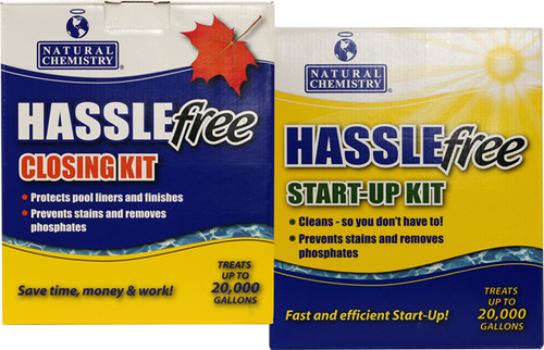 Natural Chemistry, Hasslefree, Hassel Free,  Opening, or, Closing, swimming, pool,  Kit, FREE SHIPPING, 08002, NAT-50-8002