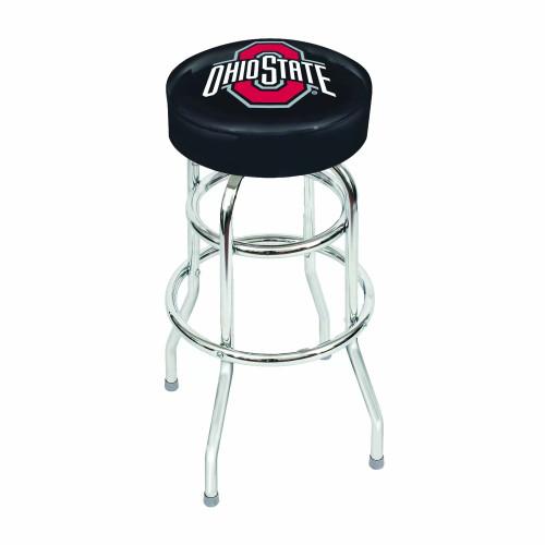 "61-4015, Ohio, State, Buckeyes, 30"", Chrome, Bar, Stool, NCAA"