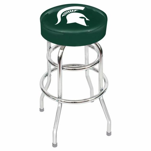 "61-4016, Michigan State, Spartans, 30"", Chrome, Bar, Stool, NCAA"