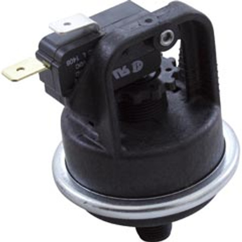 "Pressure Switch,  21 Amp , 1/8"" mpt, SPST"