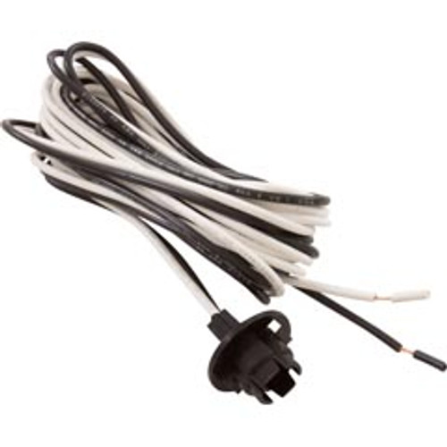 813-4360, 408011, Wiring, Harness, Single, Light, 12V, 8′, hot tub, spa, waterway, dream maker,  _813-4360 , 369828 , 610467 , 806105225351 , 813-4360B , 8134360B , BLHARNESS, 2 wire