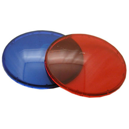 "630-0005, 630-5005, 408015, Dream Maker, Waterway, 3.5"", Lens, Colored, replacement, Red, Blue, FREE SHIPPING, 806105106490 , 9185-38G"