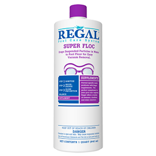 Regal, Qt, Super, Floc, FREE SHIPPING, super, blue, clarifier, swimming, pool, chemical, biolab, bioguard, leslies, pinch a penny,  RGL-50-2730