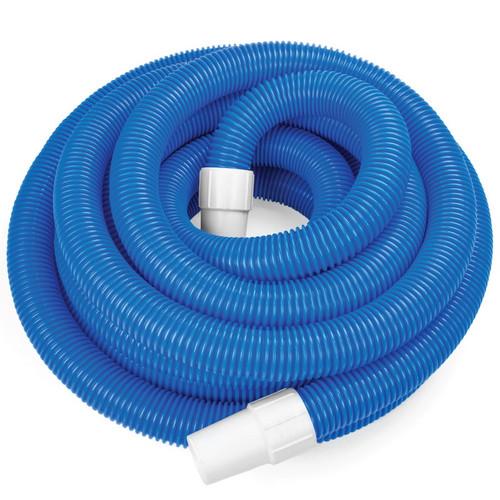"1.5"" x 30' BLUE DELUXE VAC HOSE W/ SWIVEL CUFF"