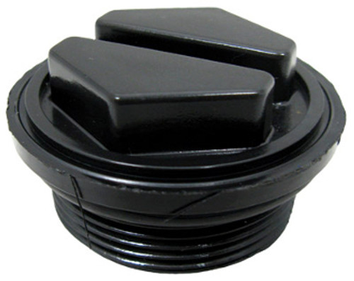 Plug 1 1/2 w/O-Ring Clean/Clear