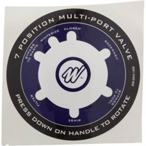 "808-0043 Waterway 1.5"" MPV Decal"