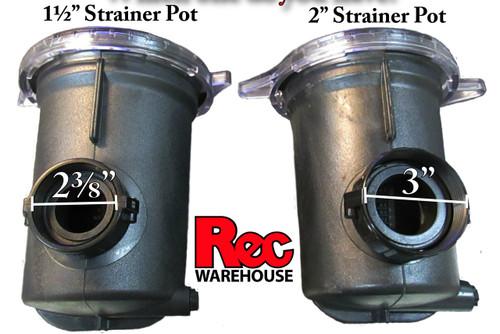 Complete Strainer Pot