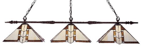Aztec Billiard Light