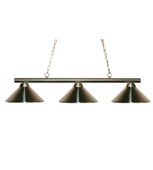 Sharp Shooter Light Fixture - Brushed Nickel Finish