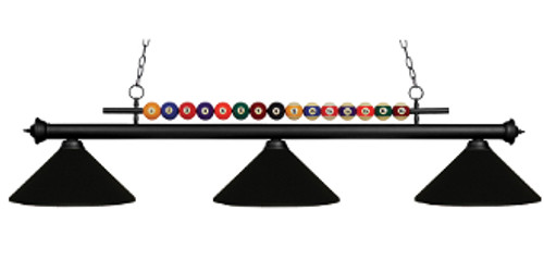 Pool Shark Billiard Light Fixture